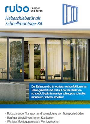 rubo Bausatz HST Montage-Kit